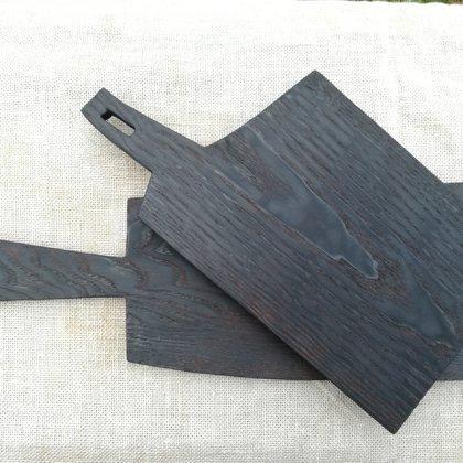 Burned Oak boards